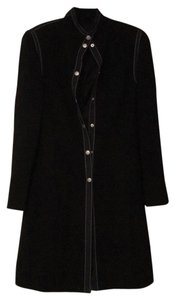 Adrienne Vittadini Black with white seaming detail Blazer