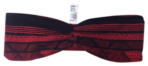 American Apparel Top red and black print