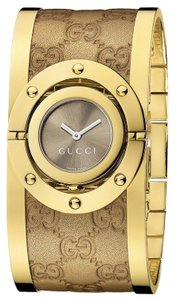 Gucci GUCCI Gucci Twirl Ladies Gold Watch YA112434