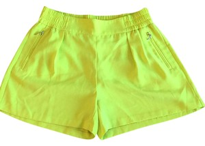 Jennifer Lopez Dress Shorts neon green