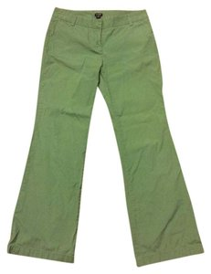 J.Crew Comfortable Business Casual Wide Leg Pants Green
