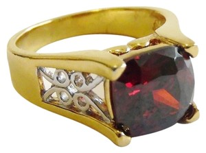 Technibond Technibond Red Garnet Ring Size 8