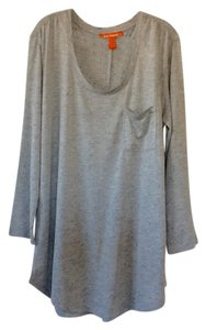 Joe Fresh Top Grey with black splotches