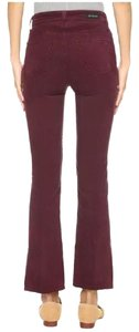 AG Adriano Goldschmied Flare Pants Maroon