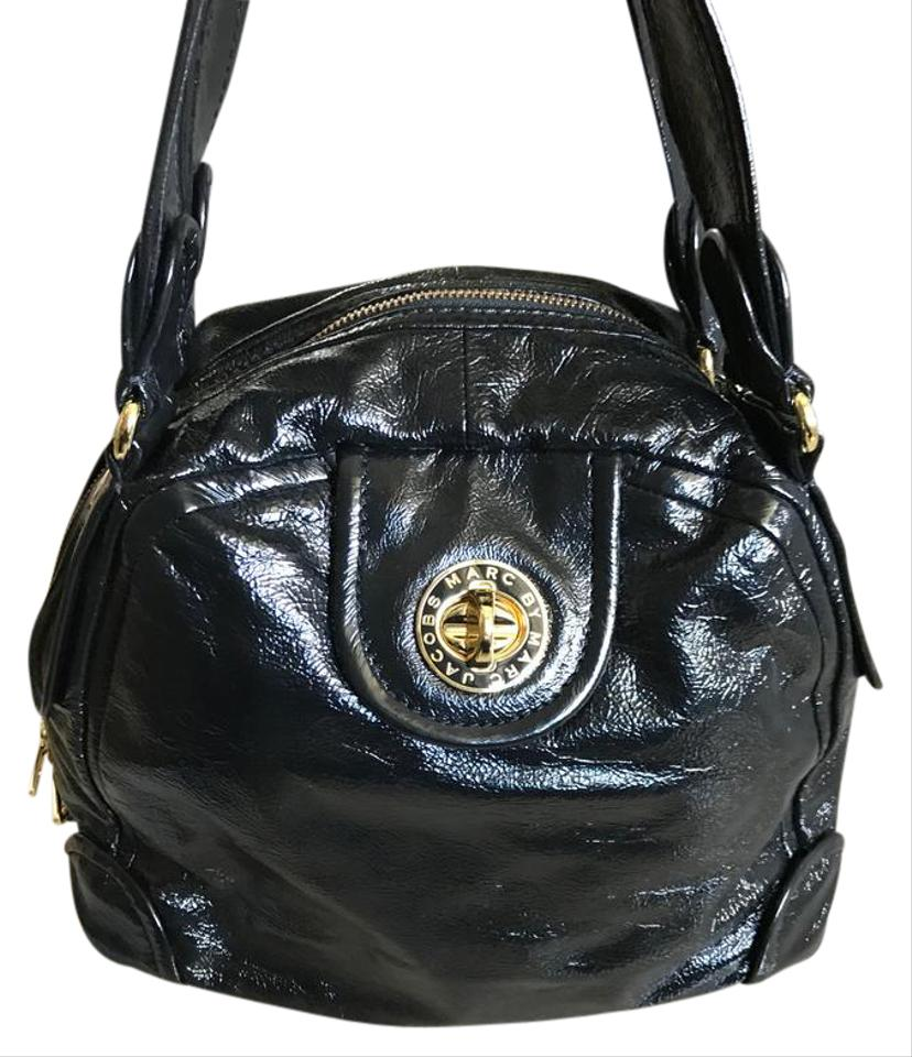 50999aea14 Marc by Marc Jacobs Black Patent Leather Shoulder Bag - Tradesy