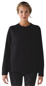 Lululemon Fleece Be True Crew Black Sweatshirt