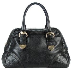 Gucci Satchel in black/gold hardware