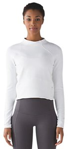 Lululemon Hill And Valley Mock Neck White Rulu