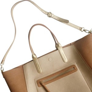 Neiman Marcus Tote in Tan, Beige, Gold