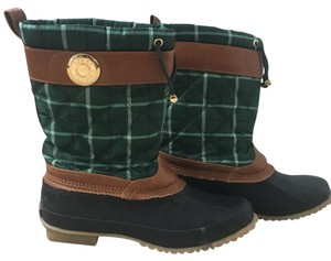 Tommy Hilfiger green multi- black- chestnut Boots