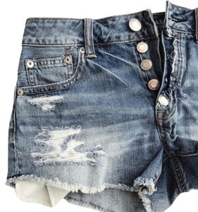 American Eagle Outfitters Cut Off Shorts Medium Wash
