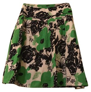 Other Skirt Kelly green, black and white