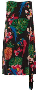 Valentino Tropical Mini Cuba Silk Dress