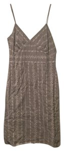 Old Navy short dress light olive/cream on Tradesy