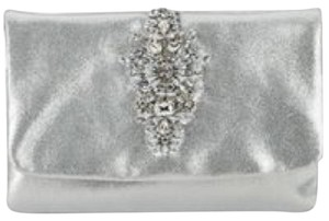 Badgley Mischka Silver Clutch - item med img