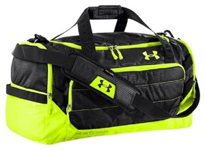 Under Armour Black & Green Travel Bag