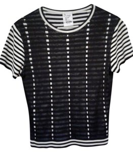 Moschino Top Black and white