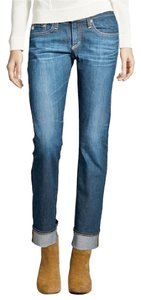 AG Adriano Goldschmied Tomboy Medium Boyfriend Cut Jeans-Medium Wash