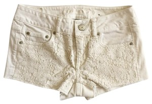 American Eagle Outfitters Shorts Cream