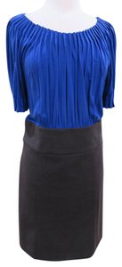 BCBGMAXAZRIA Office Separates Pencil Skirt Pleated Work Dress