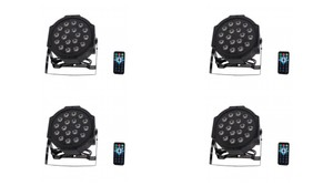 4-pack! Ships Free! Uplights For Your Event For The Price Of Renting!