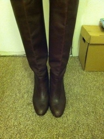 Banana Republic Chocolate Tall Brown Boots