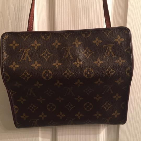 Louis Vuitton Clutch Removable Strap Shoulder Bag