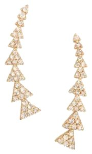 Stella & Dot Pave Triangle Path Ear Climber