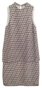 Reiss short dress Black Cream on Tradesy