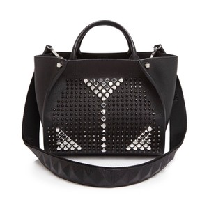 MCM Satchel in space black