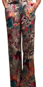 BCBGMAXAZRIA Wide Leg Pants multicolor