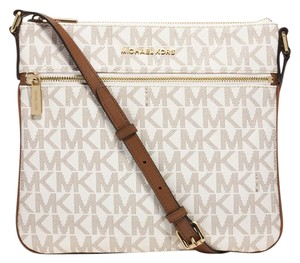 Michael Kors Signature Leather Cross Body Bag