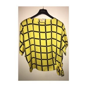 Michael Kors Top yellow & black