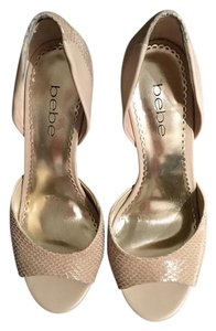 bebe Beige Pumps