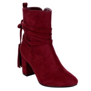 Refresh Burgandy Boots