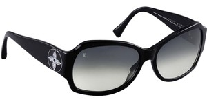 Louis Vuitton Black acetate Louis Vuitton Ursula Strass sunglasses