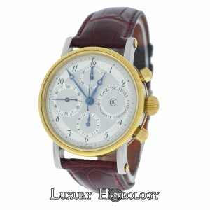 Chronoswiss Chronoswiss CH7522 Chronometer Chronograph Automatic Steel 18K Gold