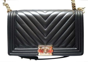 Chanel Boy Lambskin New Medium Shoulder Bag