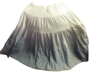 Charlotte Russe Skirt Blue colorblock