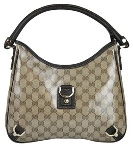 Gucci Crystal Gg Abbey Hobo Shoulder Bag