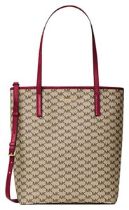 Michael Kors Emry Cherry Tote in natural cherry