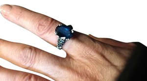 Other London blue topaz ring