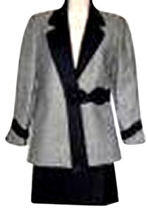 Francesco Ferri Parris Francesco Ferri Paris 2 Piece Wool Women Designer Suite Sz. Eu38, US 6