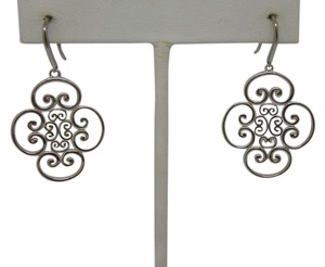 Tiffany & Co. Sterling Silver Paloma Picasso Goldoni Quad drop earrings