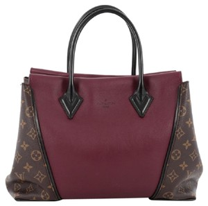 Louis Vuitton Canvas Leather Tote