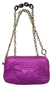 Henri Bendel Handbag Pink Hot Pink Cross Body Bag