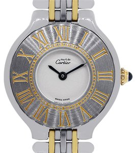 Cartier Cartier Must De 21 Two Tone Quartz Ladies Watch