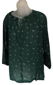 Madewell Top Green