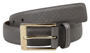Gucci Diamante Leather Belt with Square Buckle 95/38 345658 1226