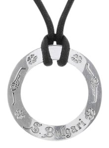 BVLGARI Bulgari Save the Children Sterling Silver Pendant